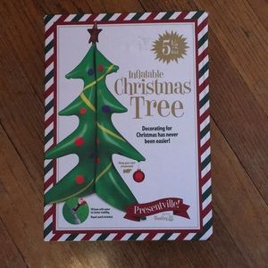 Inflatable Christmas Tree 5.5 feet tall! NWT!